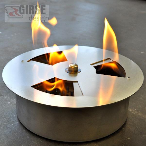 bioethanol feuer einsatz girse kamin. Black Bedroom Furniture Sets. Home Design Ideas